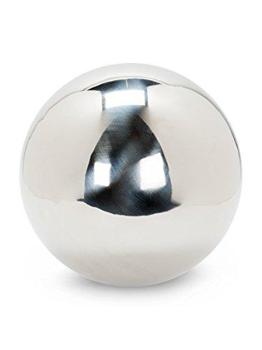Abbott Collection Jumbo Silver Garden Gazing Ball
