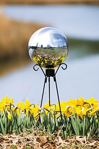 Evergreen Enterprises Eg491345 Silver Glass Gazing Ball