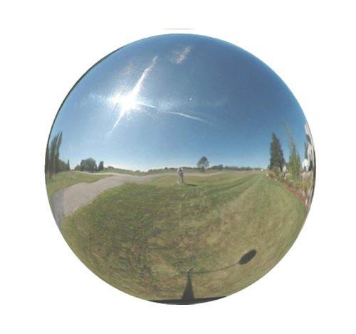 Very Cool Stuff Sil06 Stainless Steel Gazing Globe Mirror Ball 6-inch