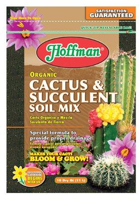 Hoffman 10410 Organic Cactus And Succulent Soil Mix 10 Quarts