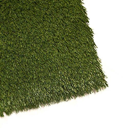 ALEKO 2AG2X3WS 2x3 Feet 6 sf IndoorOutdoor Artificial Garden Grass W Shape Monofil PE Lot of 2