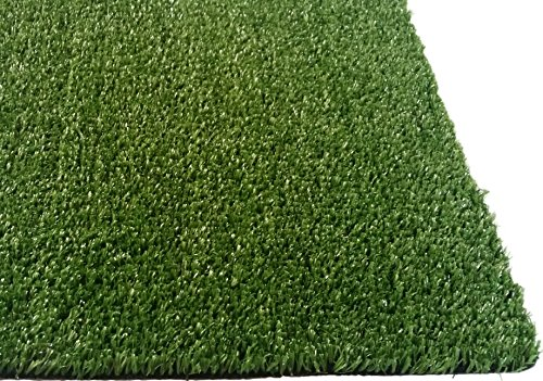 Zen Garden Grass Rug with Drainage Holes Blade Height 04 10mm 27 ozsq yard 4 ft x 2 ft