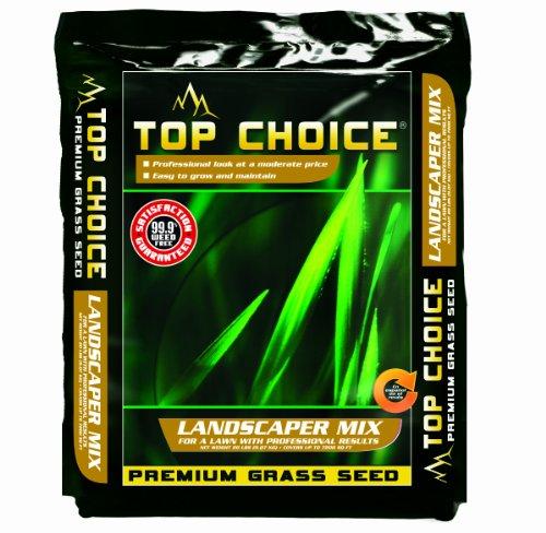 Top Choice 17624 3-way Perennial Ryegrass Grass Seed Mixture 20-pound