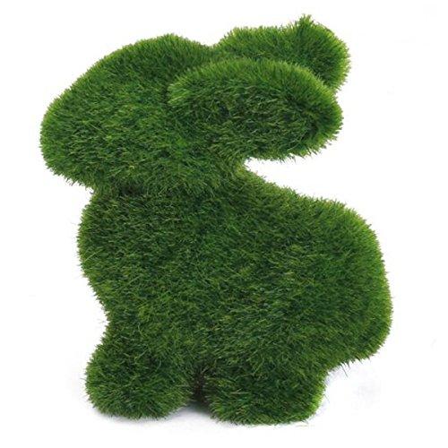 Grass Creative Handicraft Animal Rabbit Artificial Turf Grass Animal Rabbit Home Office Ornament