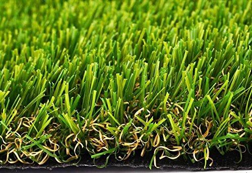 Synturfmats 4x5 Artificial Grass Carpert Rug - Premium Indoor  Outdoor Green Synthetic Turf 4-Toned Blades