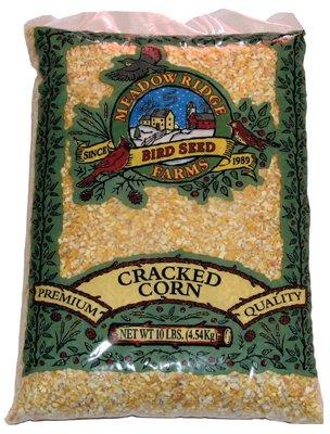 JRK Seed Turf Supply B200310 10 lbs Cracked Corn Bird Food