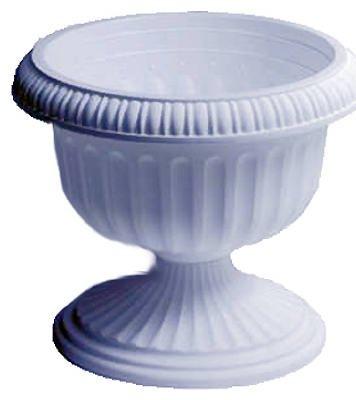 Att Southern UR1212WH 12-Inch White Grecian Urn Planter - Quantity 9