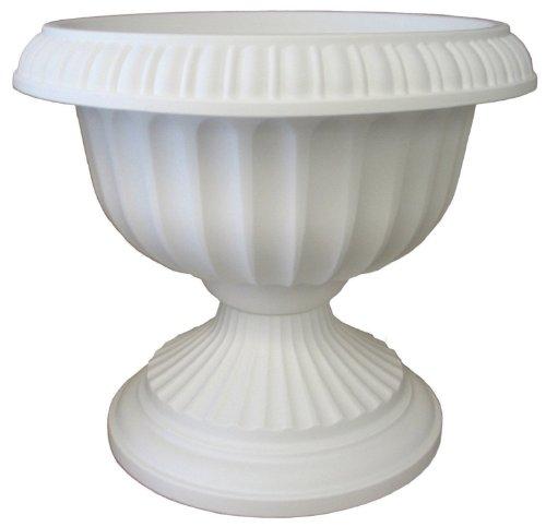 Bloem Grecian Urn Planter 18 White