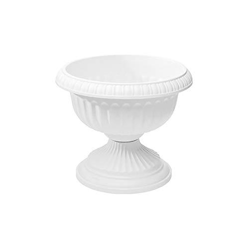 Grecian Urn Planter White 12-Inch