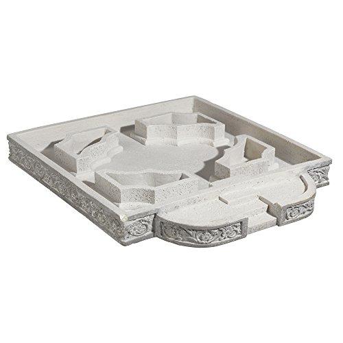 Grasslands Road Miniature Classical Cement Planter 13 by 15Medium Multicolor