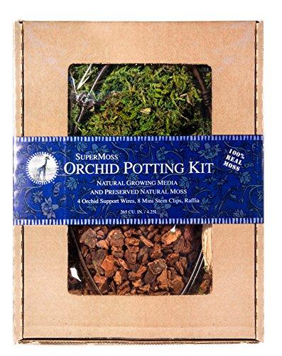 Super Moss 90510 Orchid Potting Kit 8 Pounds