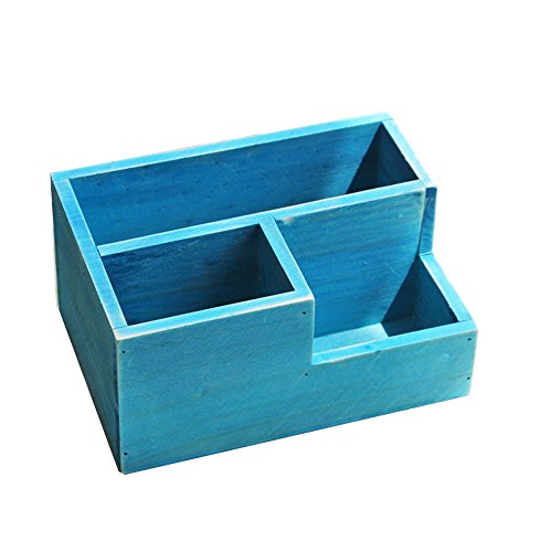 Zeroyoyo Wooden Garden Herb Planter Window Box Trough Pot Succulent Flower Plant 2