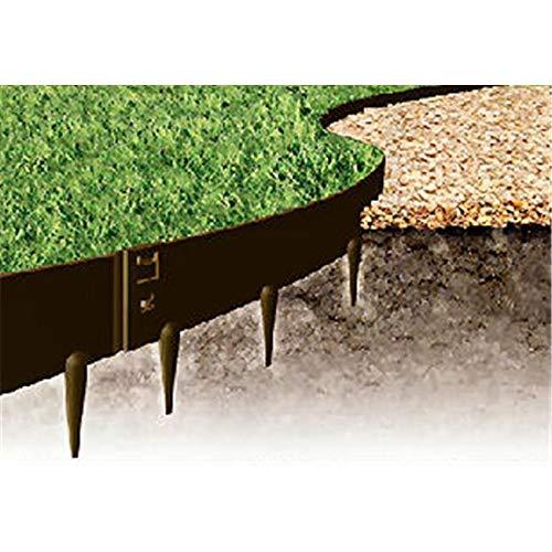 Kinsman 39 x 5 in Everedge Lawn Edging44 Slate - Pack of 5