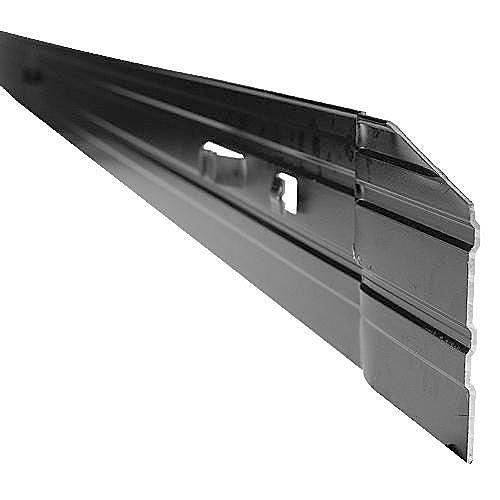 Permaloc Aluminum Edging Set Of 6 Sections 8-foot Lengths Black Finish