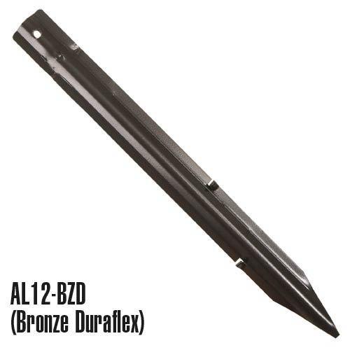 Permaloc Edging Steel Stake 12 X 1 Inch - Bronze Duraflex