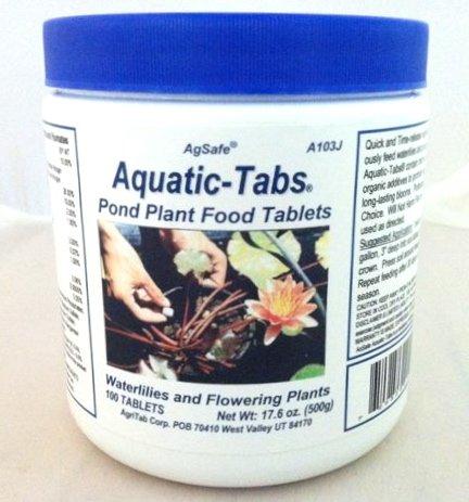 Agsafe Aquatic Tabs Pond Plant Water Lily Fertilizer - 100 Tabs Jar