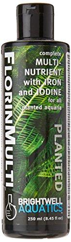 Brightwell Aquatics Abafnm250 Florinmulti Plant Care Products For Aquarium, 8.45-ounce