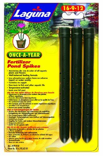 Laguna Once-a-year Fertilizer Spike, Aquatic Plant - 3-pack
