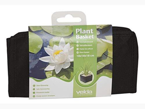 Flexible Fabric Aquatic Water Garden Pond Plant Basket Planter 10 Inch Square