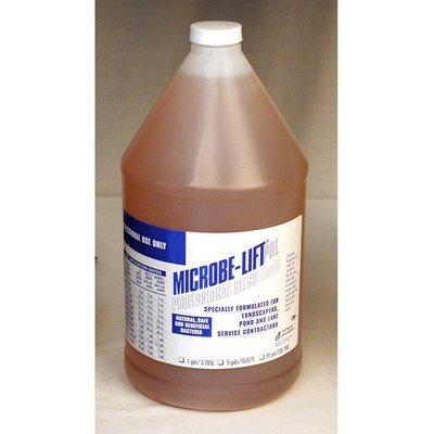Microbe-lift Professional Blend Liquid Gallon 10pblxg4 Promotes Healthy Pond Fishamp Plants