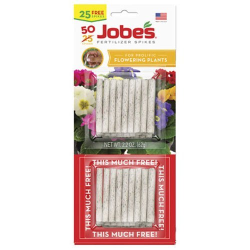 Jobe's Flowering Plant Fertilizer Spikes Twin Pack