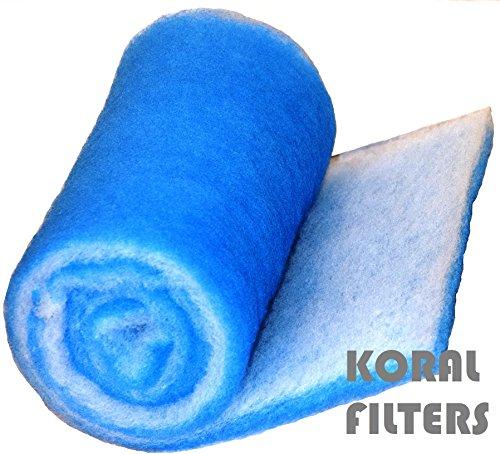 Koi Pondamp Aquarium Filter Media 6 Ft Roll