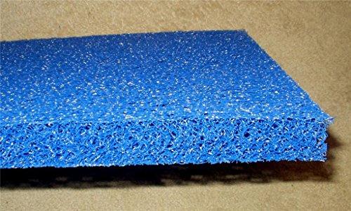 Matala Filter Sheet Media Mat blue 14&quot X 24&quot -for Koi Pond Filtration