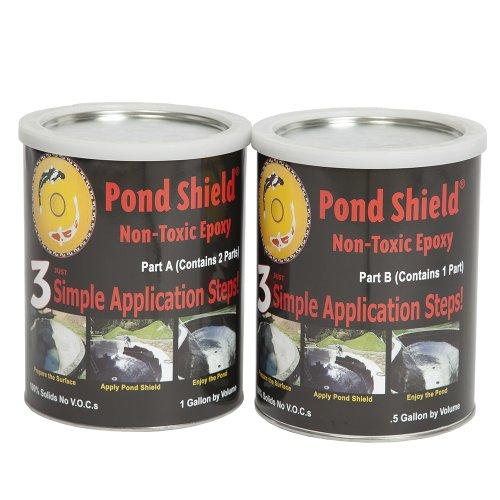 Pond Armor SKU-TAN-GA Non-Toxic Pond Shield Epoxy Paint 15-Gallon Tan