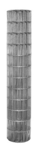 2 Inch X 4 Inch Mesh 14 Gauge Galvanized Welded Wire Fence 48 Inch Tall X 50 Feet Long