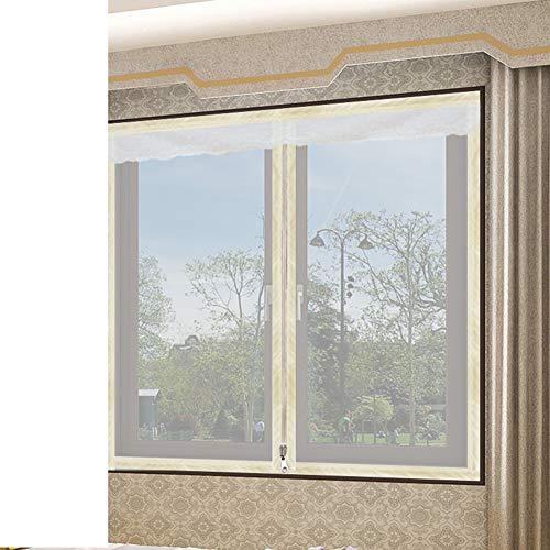 Box Magic Stickers Window Screen Meshanti-mosquito Mesh Curtain Window Screen Diy Polyester No Drilling-e 100x100cm39x39inch