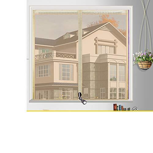 Box Magic Stickers Window Screen Meshanti-mosquito Mesh Curtain Window Screen Diy Polyester No Drilling-e 120x180cm47x71inch