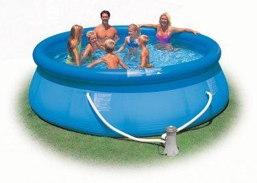 Intex 12 x 36 Easy Set Swimming Pool Set w Filter Pump  28145EG 56931EG