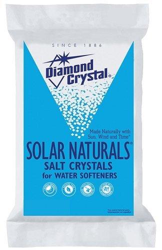 Diamond Crystal 804017 Solar Naturals Water Softener Salt 50 Lbs