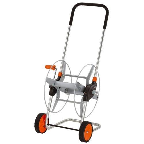 Gardena 2681 164-Foot Wheeled Metal Garden Hose Reel With Adjustable Handle
