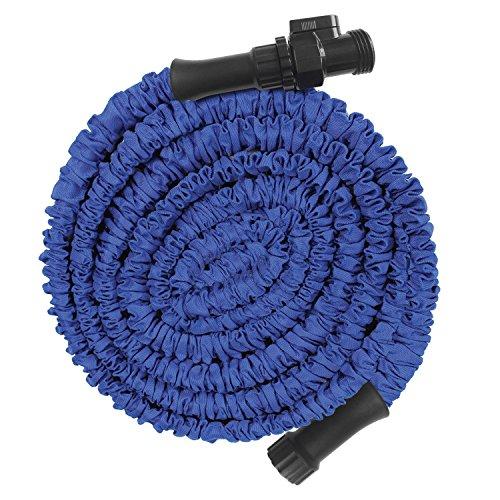 High Quality Blue Garden Hose - Xhose Advance - Expands To 50 Feet The Original Expanding Hose - Lightweight