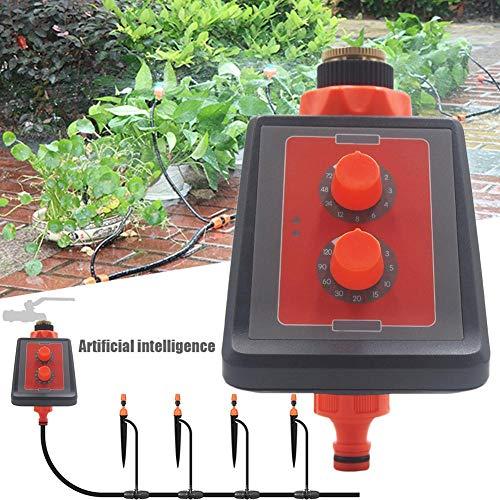 Simple Knob Sprinkler System Controllers Intelligent Garden Hose Timer Outdoor Swing Panel High Waterproof Watering Controller