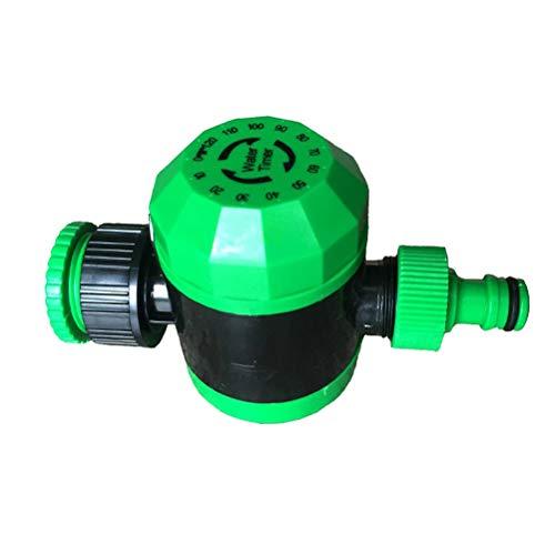 Yardwe Hose Faucet Timer Mechanical Small Size Irrigation Controller 2-Hour Timed Garden Irrigation Timer Green