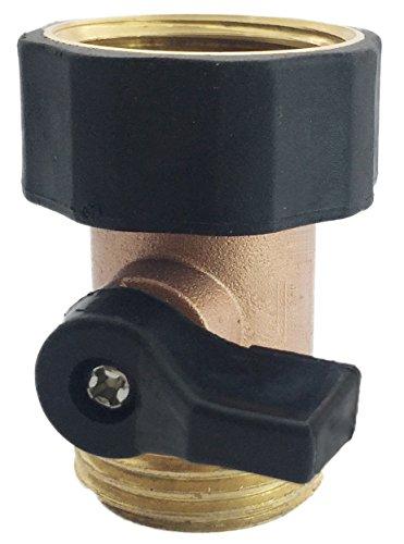 A1002 3yr Warranty Heavy Duty Brass Garden Hose Shut Off Valve