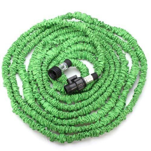 Ebotrade New Version Flexible Expandable Garden High Quality Hose 50-feet Green