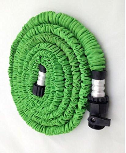 Speedcontrol Garden Hose 25 Feet Strongest Expandable Flexible Garden Watering Hose Green