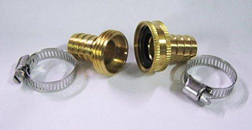 Brass 58 Garden Water Hose Repair Kit - male female