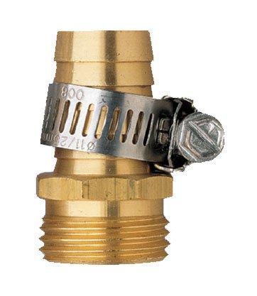 Orbit Male Thread Aluminum 58&quot Water Hose Repairamp Clamp For Garden Hoses