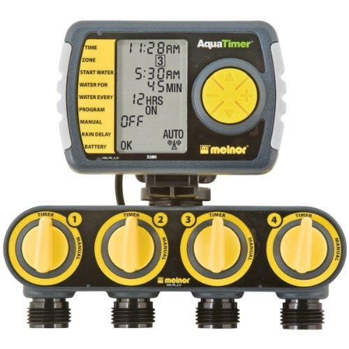 4-Zone Digital Water Timer