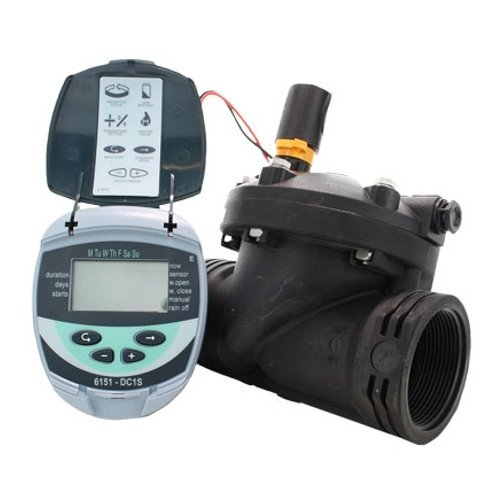 Galcon Gajbsh342p0 61512 Dc-1s 1-station Battery Operated Irrigation And Propagation Controller