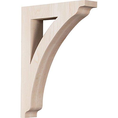 Ekena Millwork BKTW01X07X10THGM 1 34W x 7 12D x 10 12H Medium Thornton Wood Bracket Mahogany Size 1 34W x 7 12D x 10 12H Color Mahogany Model BKTW01X07X10THGM Tools Hardware store