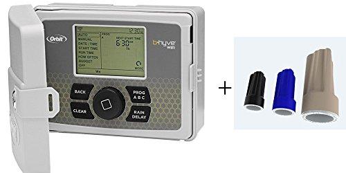 Orbit 57946 B-hyve Indooroutdoor 6 Station Wifi Sprinkler Systemamp Med Waterproof Wire Connectors