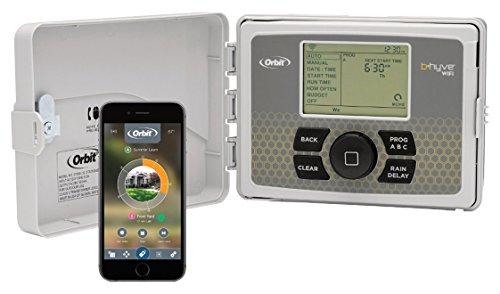 Orbit 57950 B-hyve Indooroutdoor 12-station Smart Wifi Sprinkler System Controller
