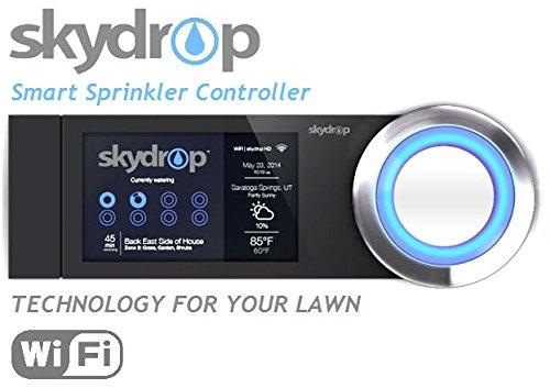 SkyDrop 8 Zone Wifi-Enabled Smart Sprinkler Controller - Expandable Frustration Free Packaging