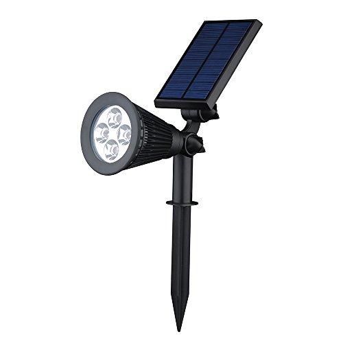 victsing solar led wall landscape solar lights for tree driveway yard