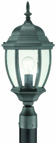 Thomas Lighting Sl90107 Covington Outdoor Post Lantern Black